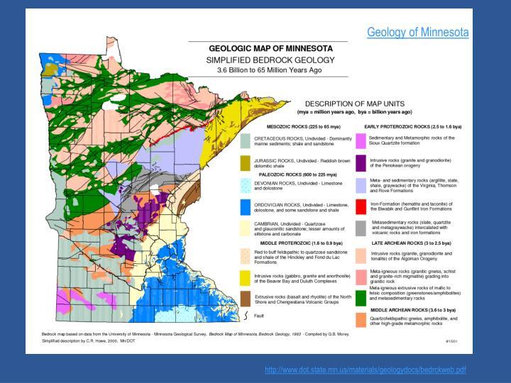 Geology of Minnesota