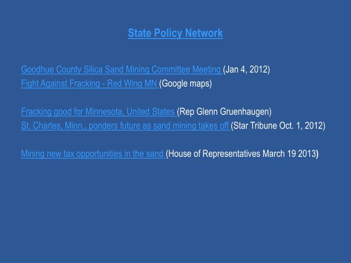 State Policy Network