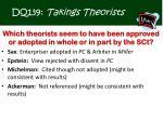 dq139 takings theorists