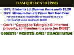 exam question 3d 19982