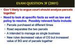 exam question 3f 20013