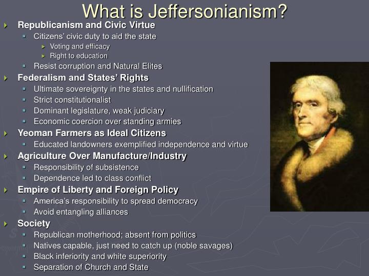 What is jeffersonianism