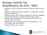 business activity tax simplification act h r 1083