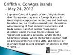 griffith v conagra brands may 24 2012