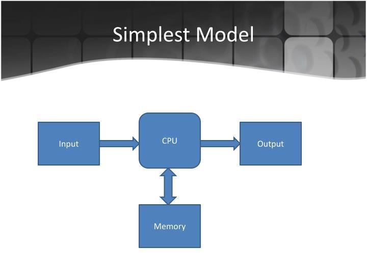 Simplest Model