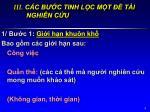 iii c c b c tinh l c m t t i nghi n c u1