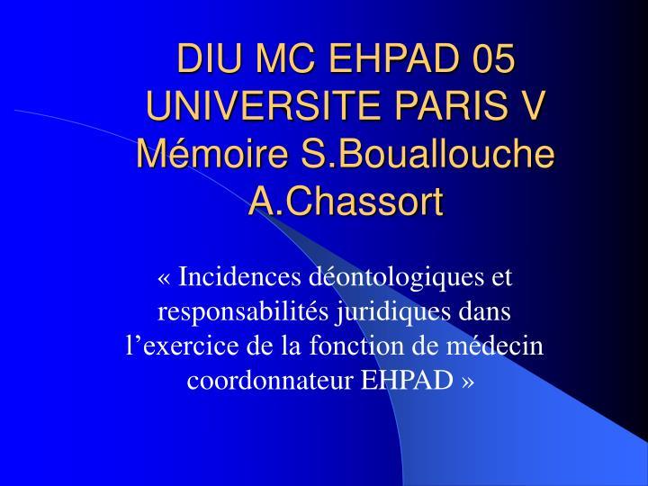 diu mc ehpad 05 universite paris v m moire s bouallouche a chassort n.