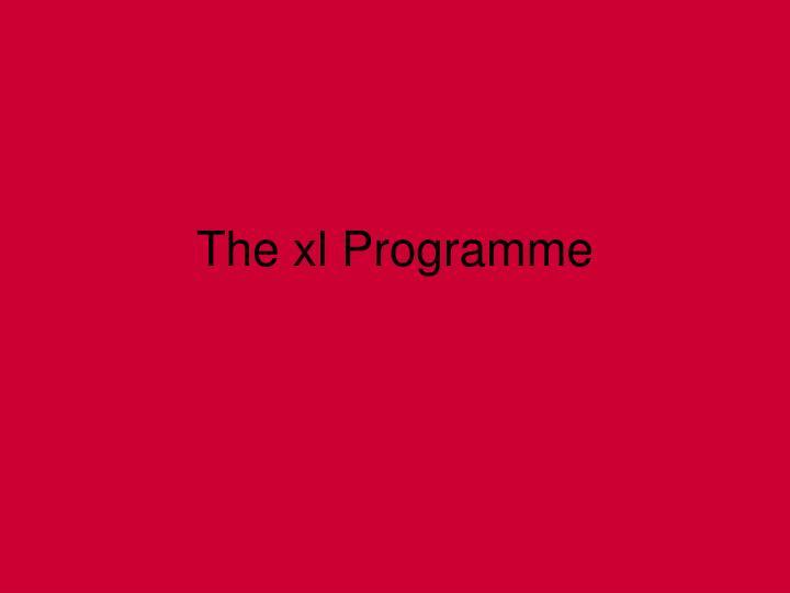 the xl programme n.