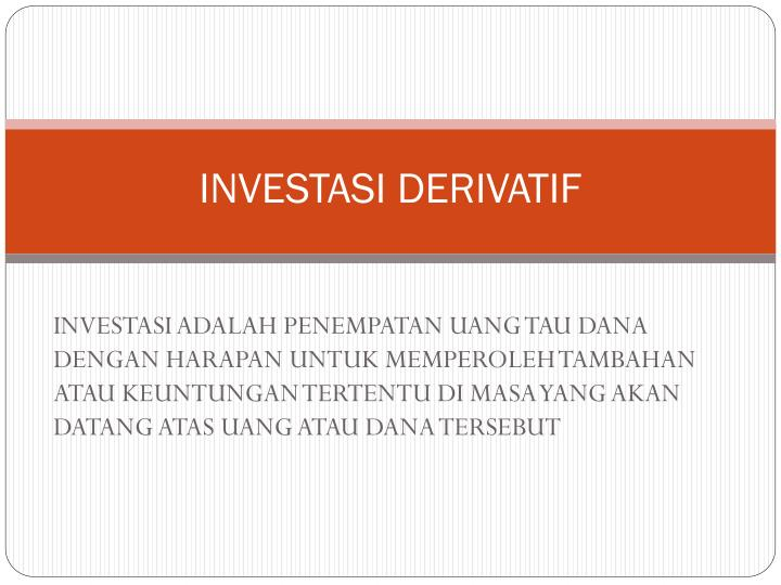 investasi derivatif n.