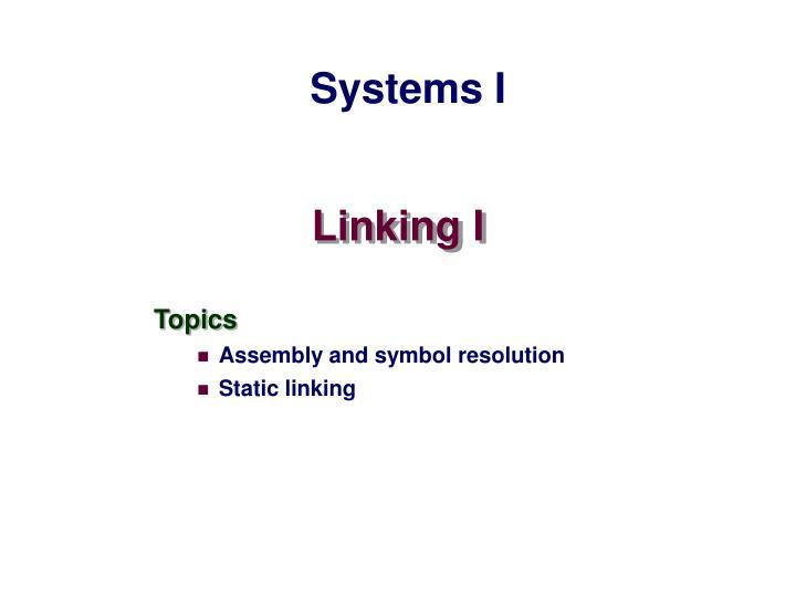 linking i n.