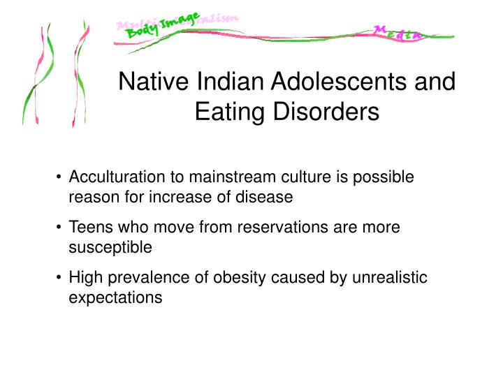 Native Indian Adolescents and