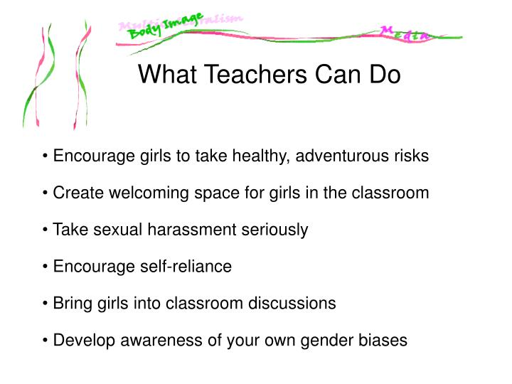 What Teachers Can Do
