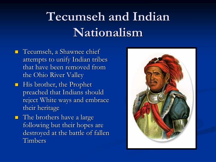 Tecumseh and Indian Nationalism