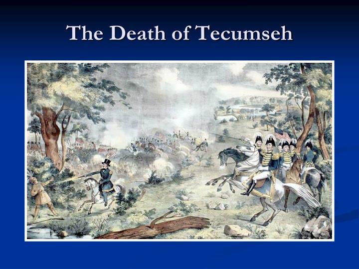 The Death of Tecumseh