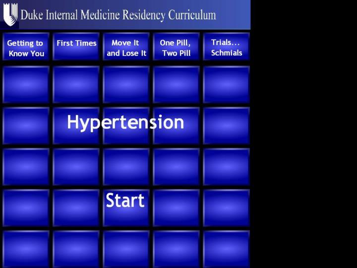 management of hypertension n.