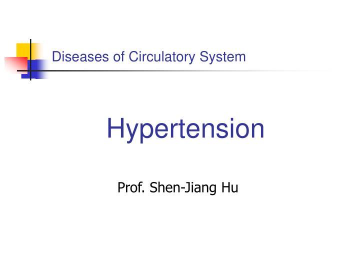Diseases of Circulatory System