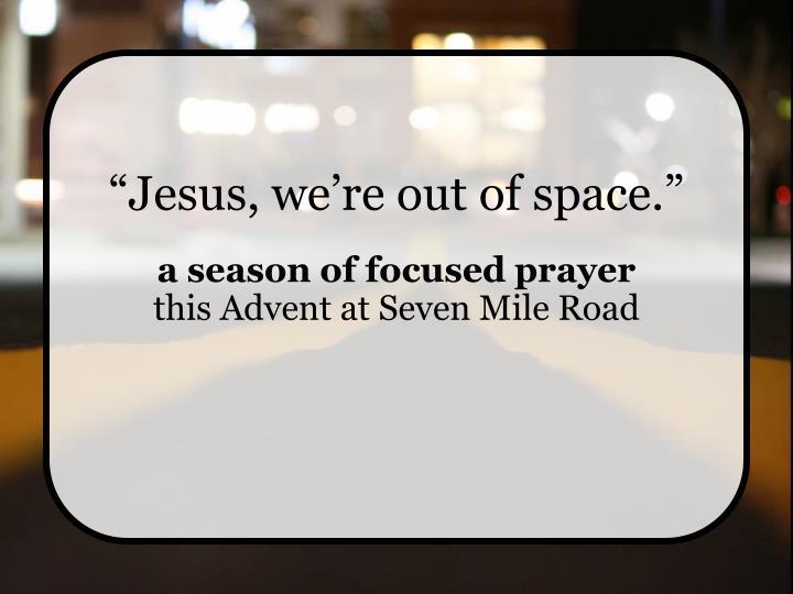 jesus we re out of space n.