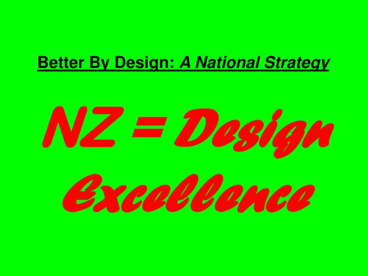 Better By Design: