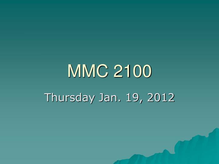 mmc 2100 n.
