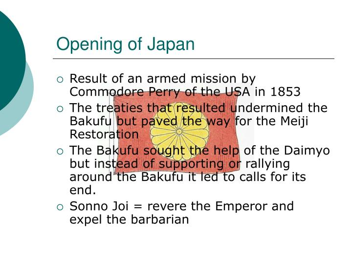 Opening of Japan