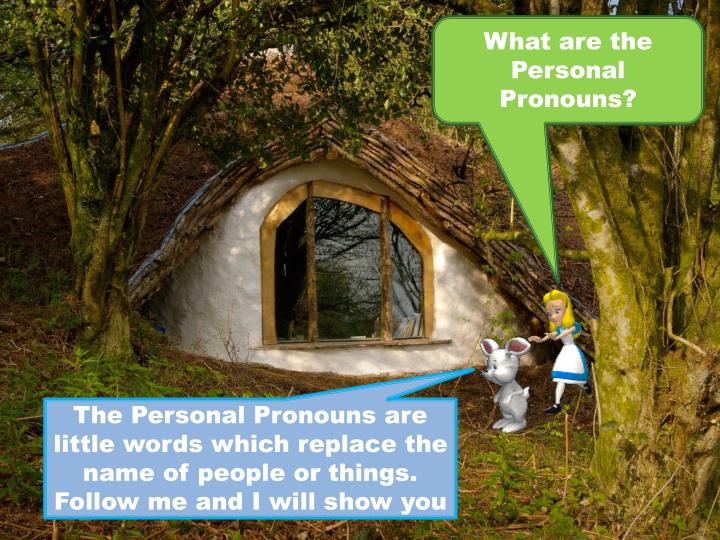What are the Personal Pronouns?