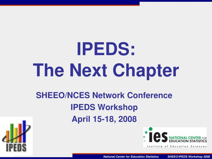 ipeds the next chapter n.