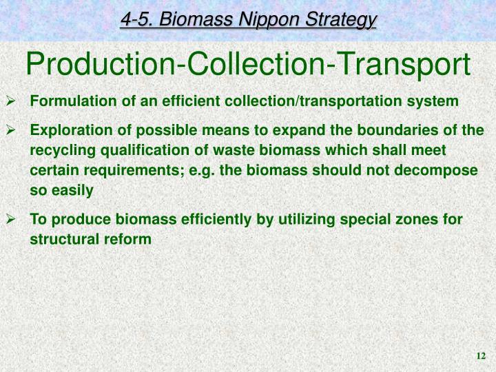 4-5. Biomass Nippon Strategy