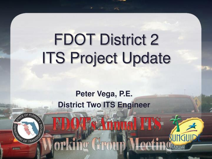 fdot district 2 its project update n.