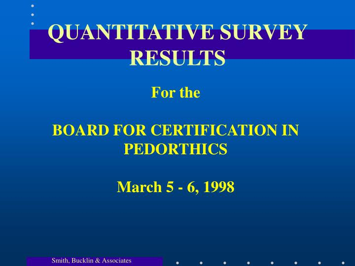 quantitative survey results n.