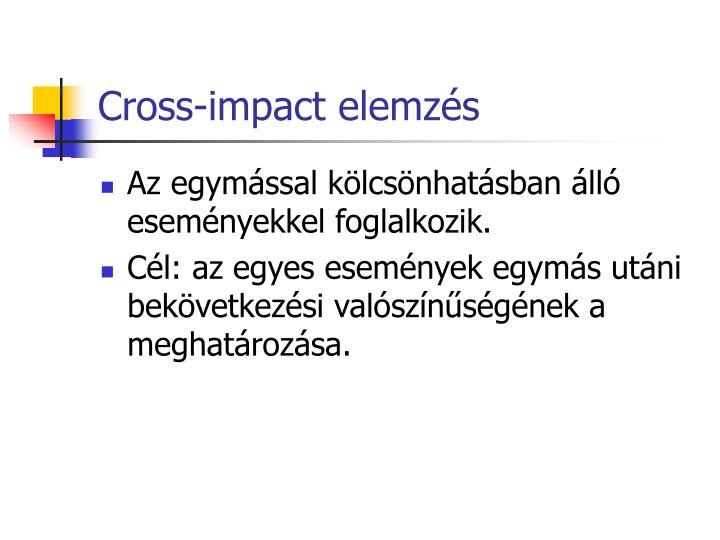 Cross-impact elemzés