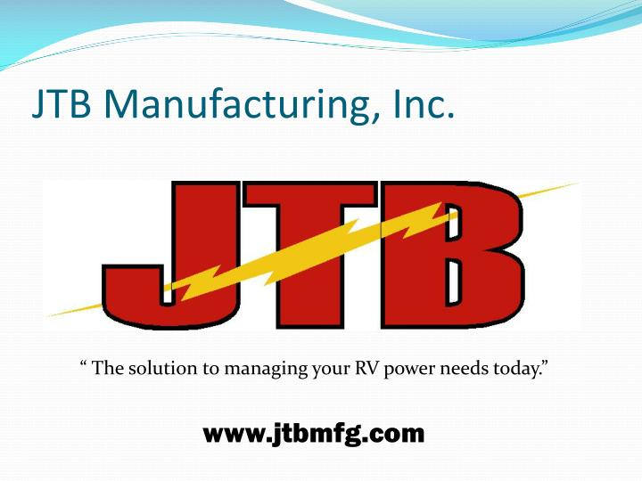 jtb manufacturing inc n.