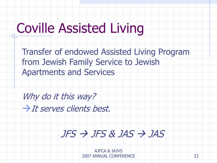 Coville Assisted Living