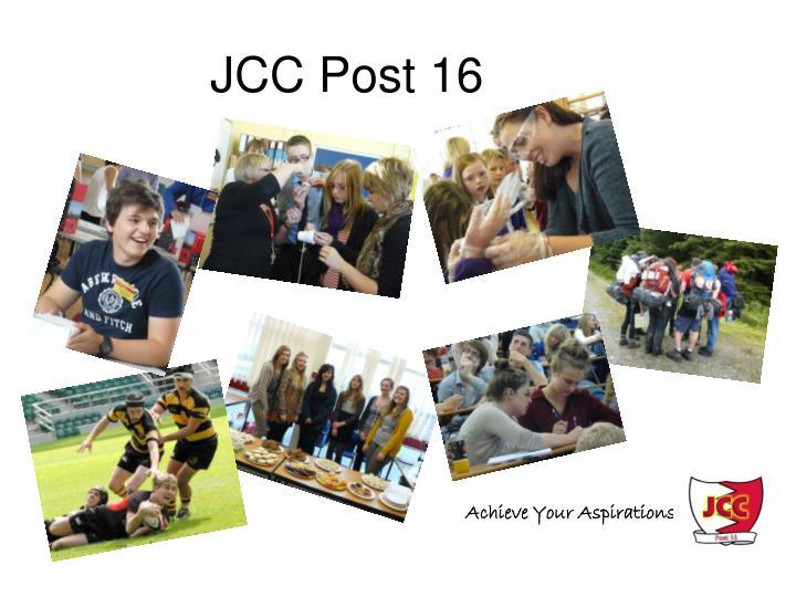 jcc post 16 n.