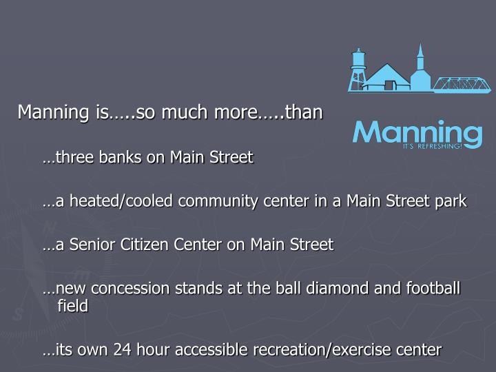 Manning is…..so much more…..than