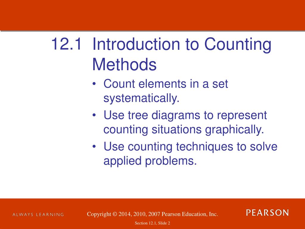 introduction to counting methods