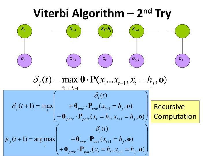 Viterbi Algorithm – 2