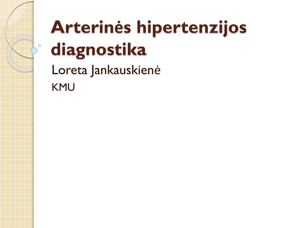mirti nuo hipertenzijos