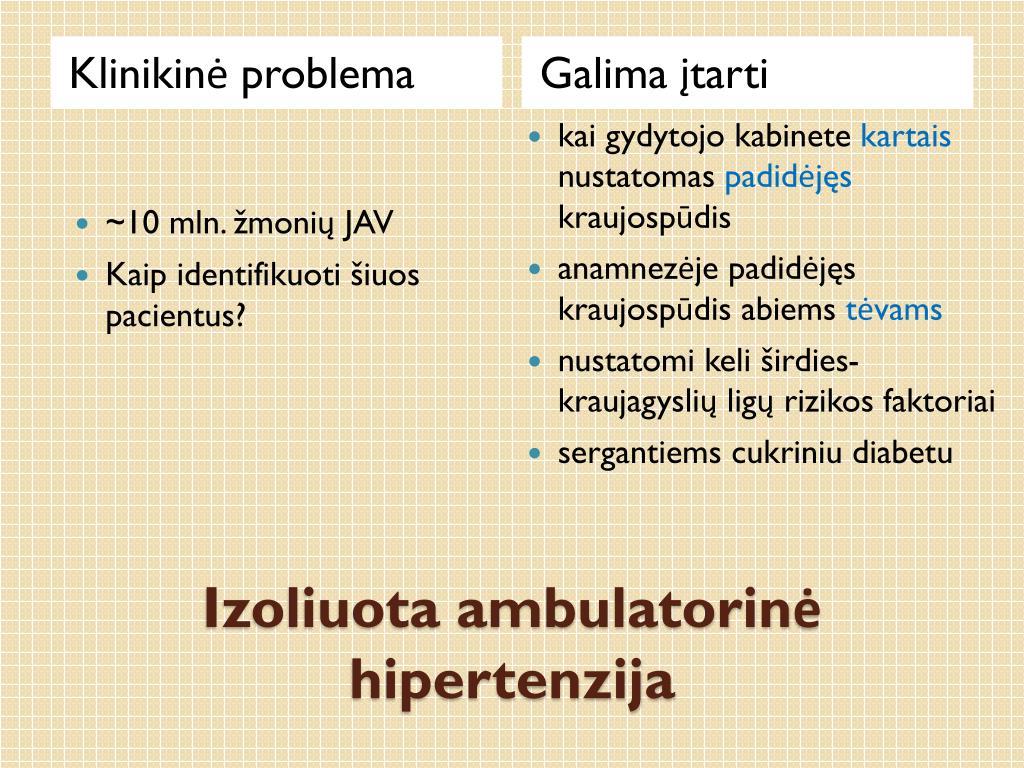 vaistas nuo hipertenzijos ir širdies bei kraujagyslių ligų kodėl hipotenzija virsta hipertenzija