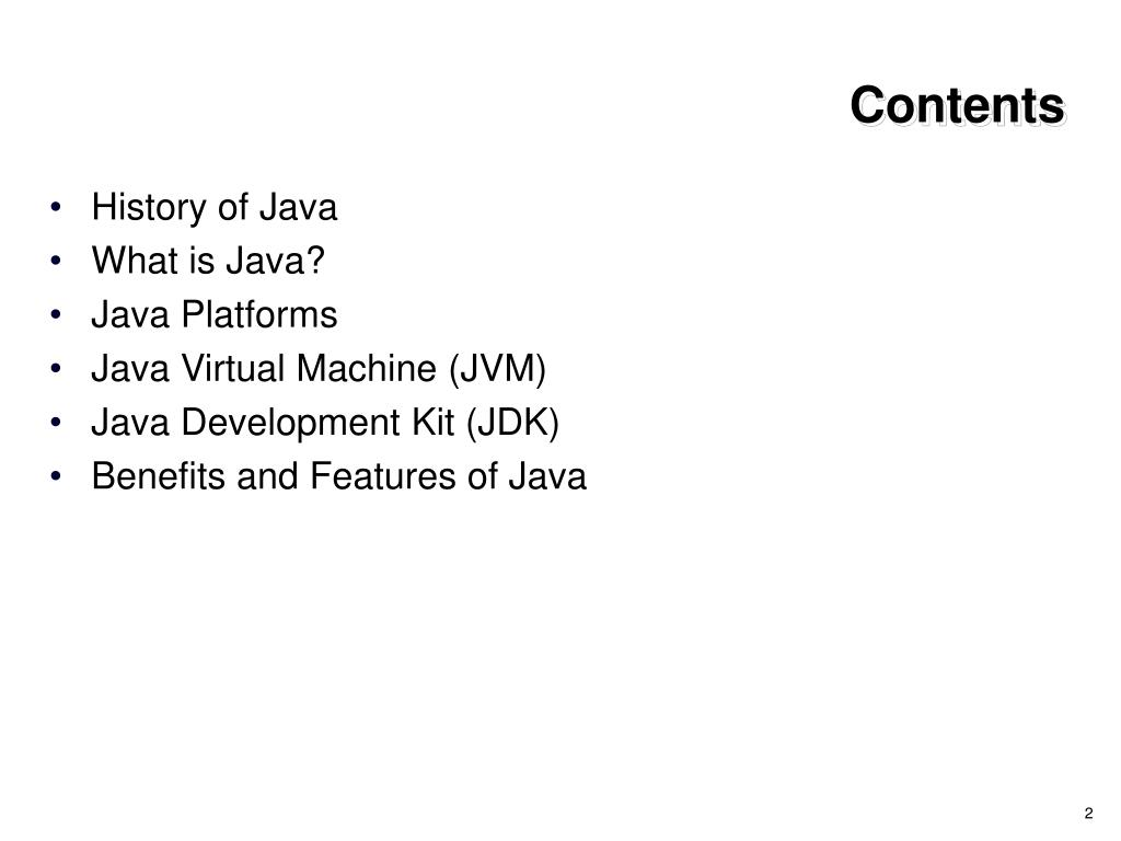 PPT - 01 Introduction to Java Technology PowerPoint Presentation
