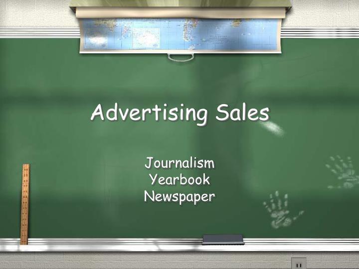 advertising sales n.