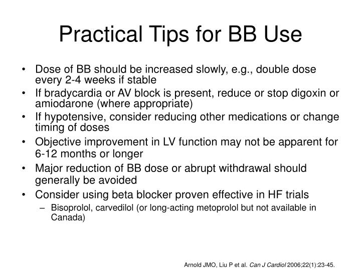Practical Tips for BB Use