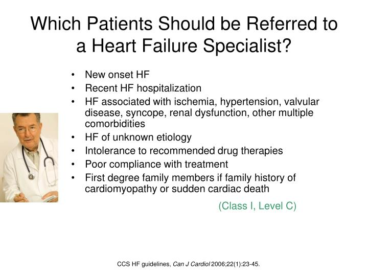 Which Patients Should be Referred to