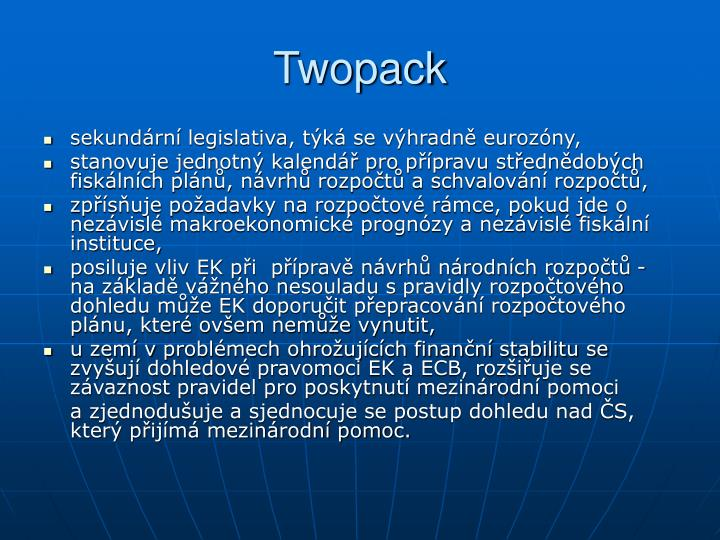 Twopack