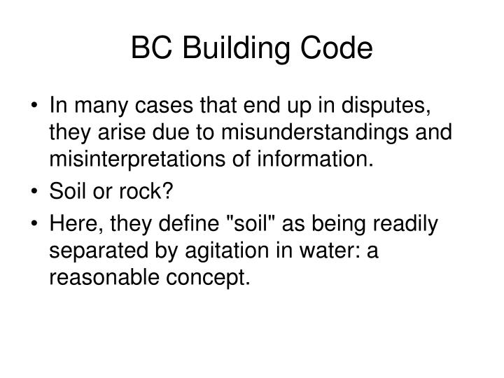 BC Building Code
