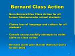 bernard class action1