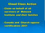 cloud class action
