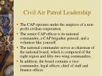 civil air patrol leadership