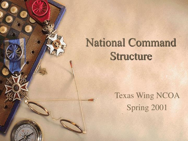 national command structure n.