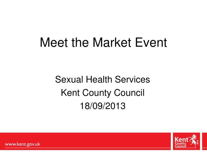 meet the market event n.