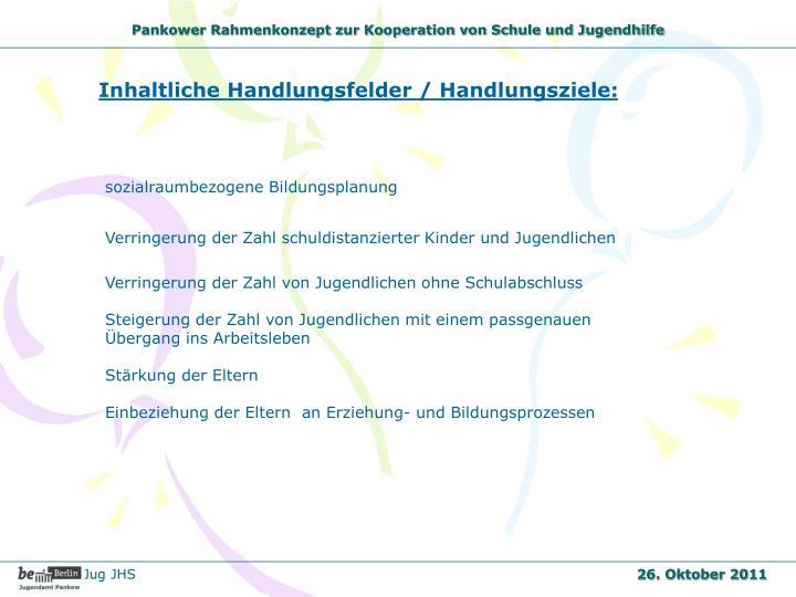 Pankower Rahmenkonzept zur Kooperation von Schule und Jugendhilfe